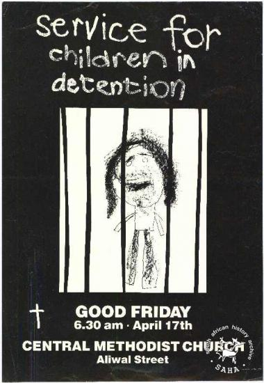 service for children in detention : GOOD FRIDAY 6.30 am . April 17th AL2446_0910