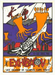 ABOUT TIME : IMAGES OF SOUTH AFRICA : EXHIBITION AL2446_1811 This poster refers to an exhibition of visual art as part of the Arts Festival