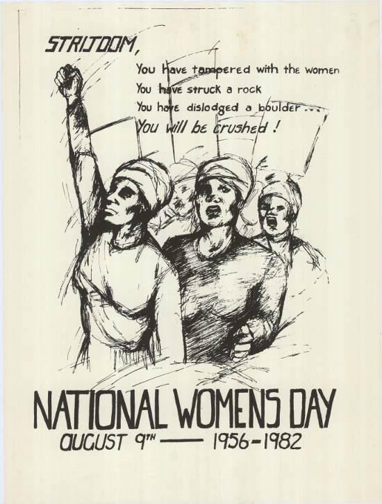 NATIONAL WOMEN'S DAY AUGUST 9TH 1956-1982