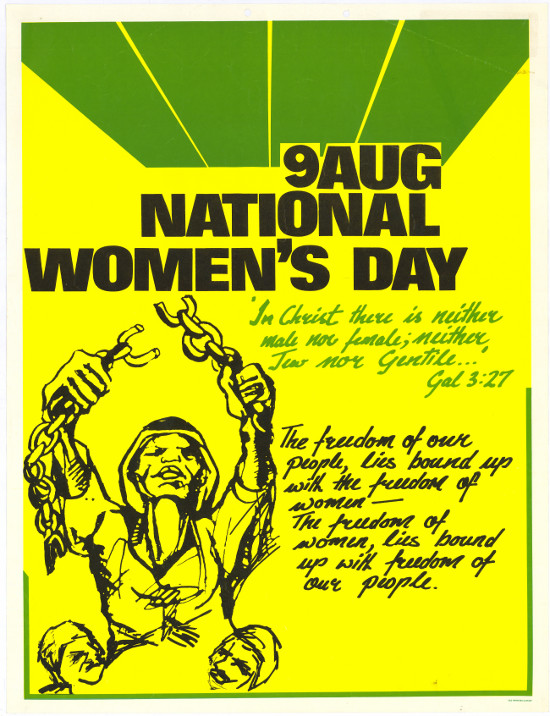 9 AUG NATIONAL WOMEN'S DAY