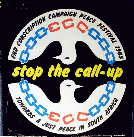 Poster advertising the ECC Peace Festival in 1993, AL2446_1894