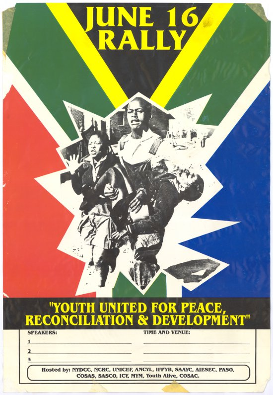 June 16 Rally Youth united for peace, reconciliation and development