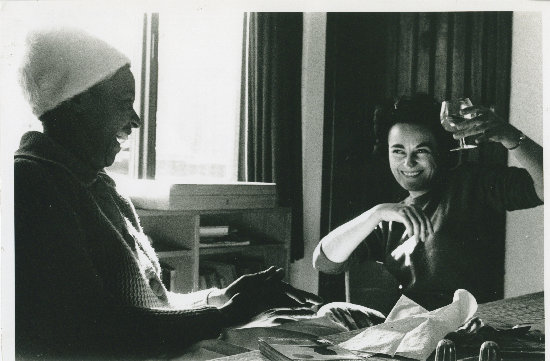 Ruth First and Winnie Mandela