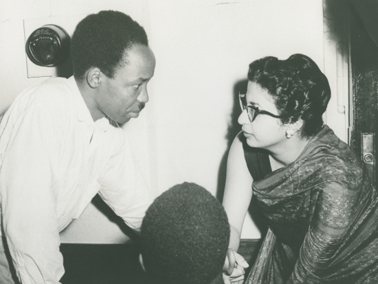 Frene Ginwala in conversation with Julius Nyerere