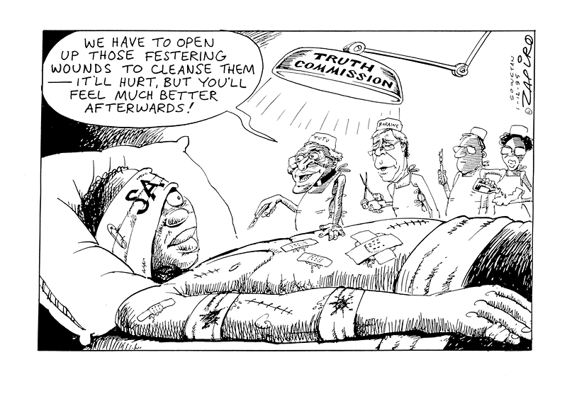 TRC cartoon from Zapiro