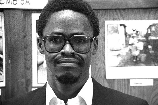 A photograph of Matthew Goniwe in Port Elizabeth months before his assassination, 14 March, 1985, Gille de Vlieg Collection, AL3274C10.1