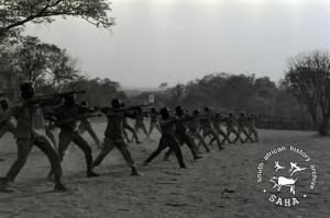 ZPRA cadres training in Freedom Camp