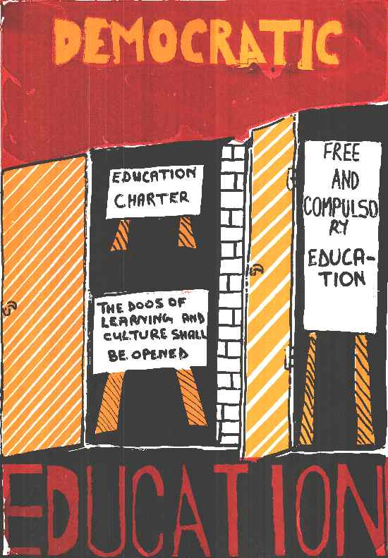 Democratic Education, SAHA Poster Collection, AL2446_0097-1