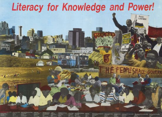 Literacy for Knowledge and Power, SAHA Poster Collection, AL2446_0897_2