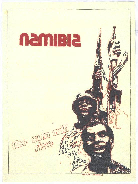 Namibia: The sun will rise, SAHA Poster Collection, AL2446_4917