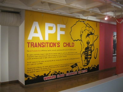 APF exhibition at Museum Africa