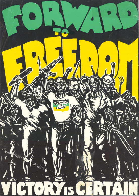 Forward to Freedom ANC Poster