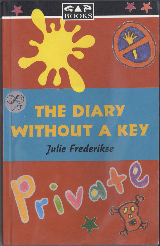 "Front cover of Julie Frederikse's book ""The Diary Without A Key"", published by Heinemann South Africa, 1994. Archived as SAHA collection AL2460_TDWAK_01.00"