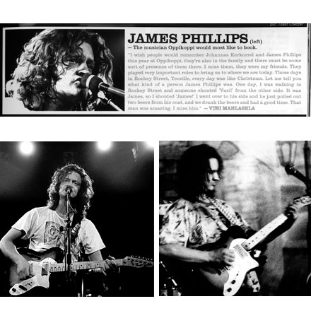 James Phillips collage