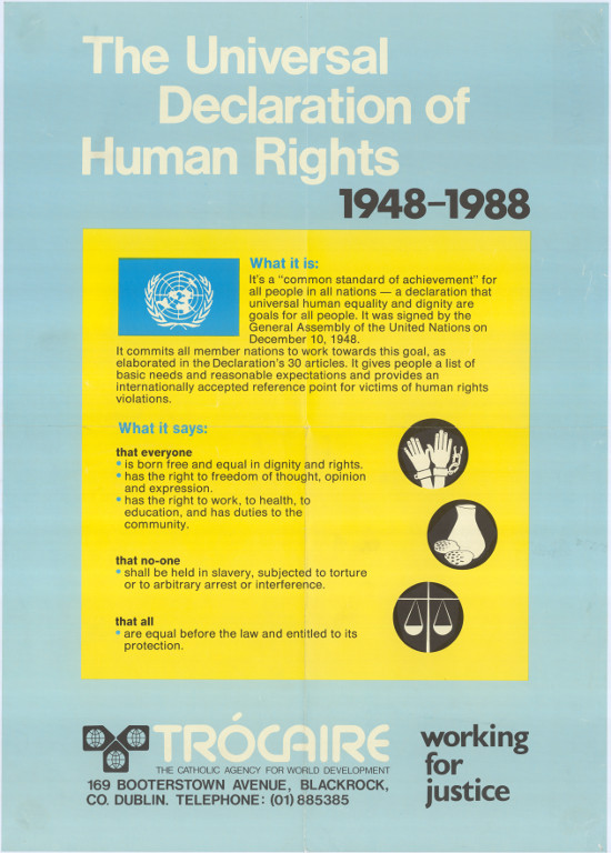 the historical development and origins of human rights What are human rights six historical identifying the origins of human rights will indispensable for his dignity and the free development of his.