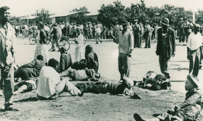 Sharpeville massacre, 21 March 1960. Source: The International Defence and Aid Fund (IDAF). Archived as SAHA collection AL2547_24.3.4