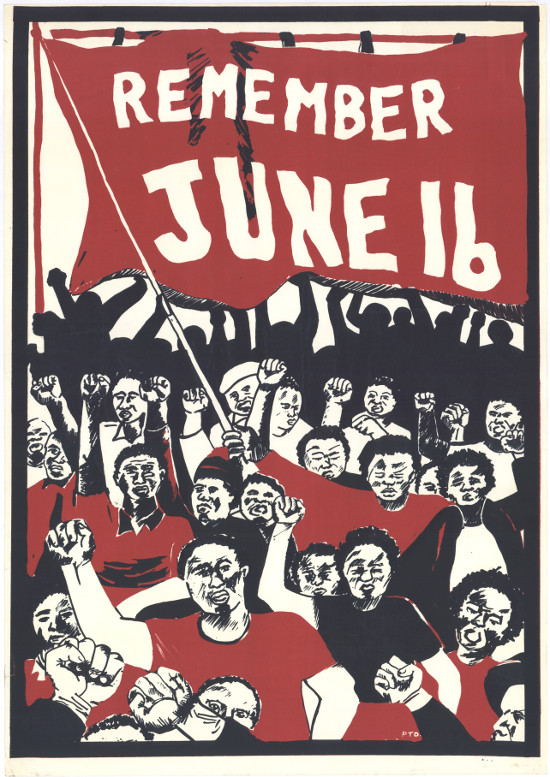 Silkscreened poster, issued by the Cape Youth Congress (CAYCO), circa 1987. Archived as SAHA colelction AL2446_1199