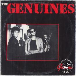 The Genuines record cover. Archived as SAHA collection AL3296_B01.13.01a