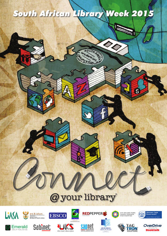 LIASA South African Library Week 2015 poster