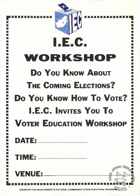 Al2446_0688 I.E.C. Workshop - Do you know about the coming elections? Do you know how to vote? I.E.C