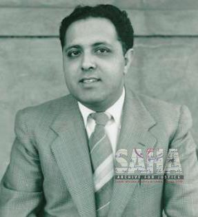 Portrait of Ahmed Kathrada prior to imprisonment 	AL2547_16.2.22