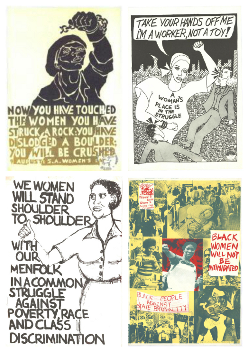 Women in the struggle posters AL2446