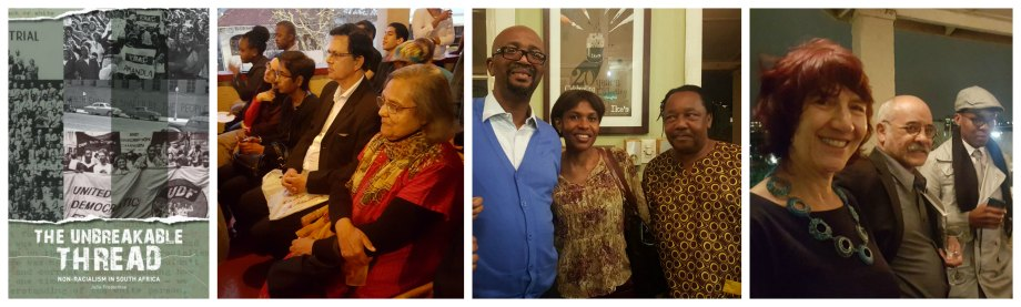 SAHA book launch and panel discussion on non-racialism held at Ike's Books in Durban on 21 September 2016