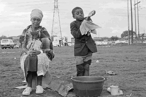 Oakmoor, Tembisa, November 1989, taken by Gille de Vlieg.