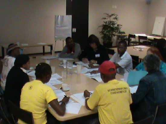 LGBTI sector participating in a PAIA training workshop.