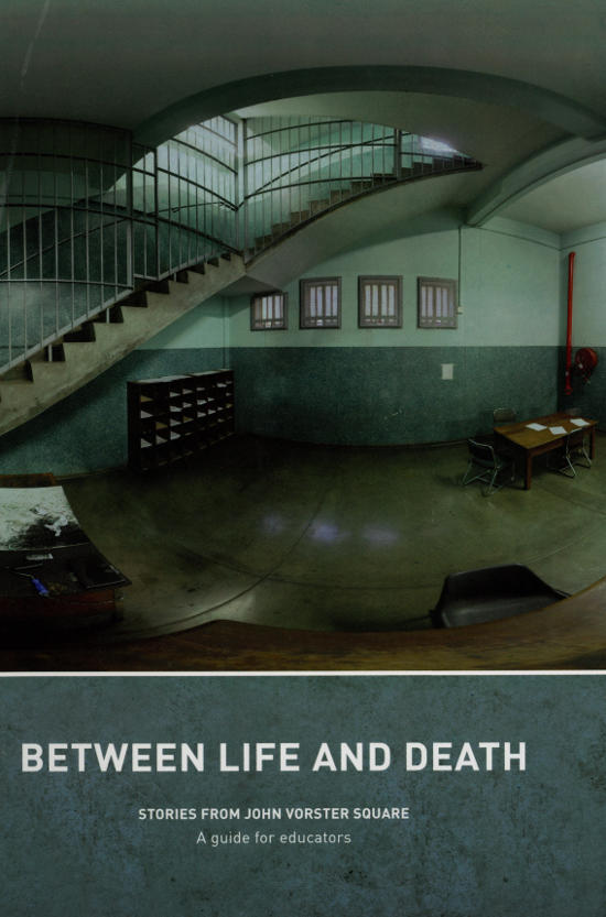 Between life and death: stories from John Vorster Square - cover