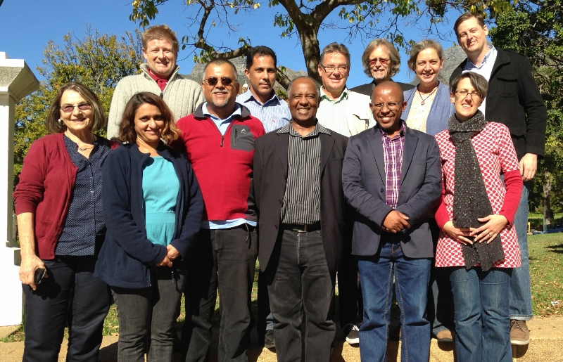 SAHA board at meeting in Cape Town, May 2013