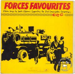 Album cover: Forces Favourites (Rounder release)