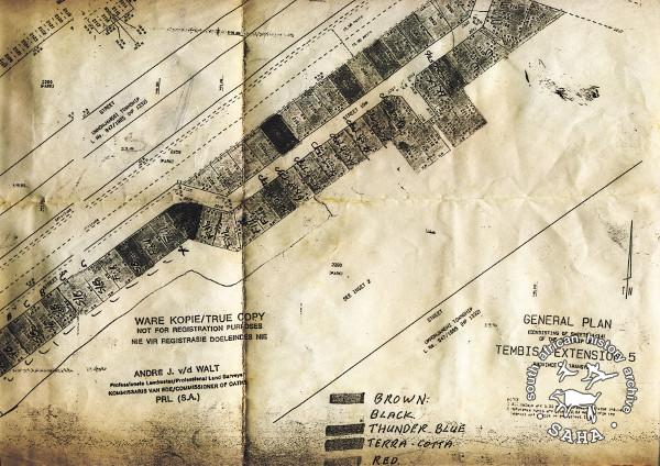 SAHA - South African History Archive - Map of Tembisa: General Plan ...
