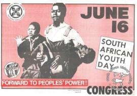JUNE 16 : SOUTH AFRICAN YOUTH DAY : FORWARD TO PEOPLE'S POWER AL2446_0127
