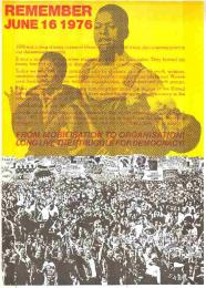 REMEMBER JUNE 16 1976 FROM MOBILISATION TO ORGANISATION